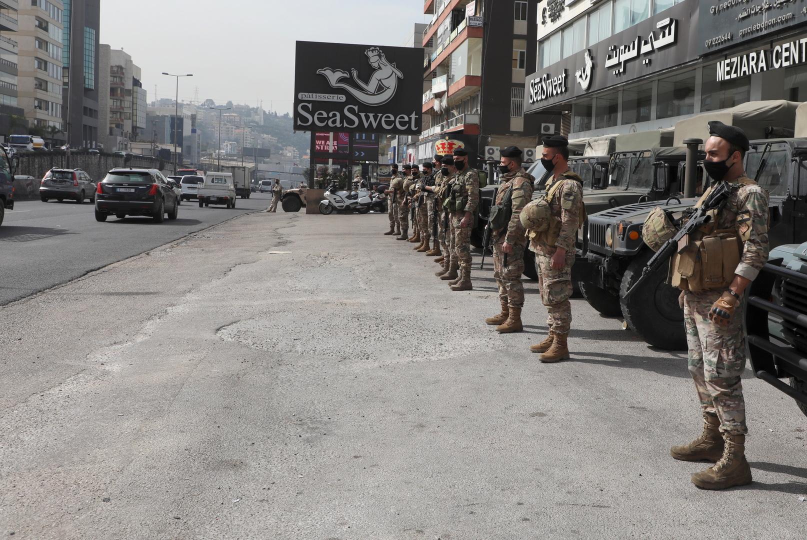 لبنان.. اشتباكات عنيفة بين الجيش ومجموعة من المطلوبين في بعلبك