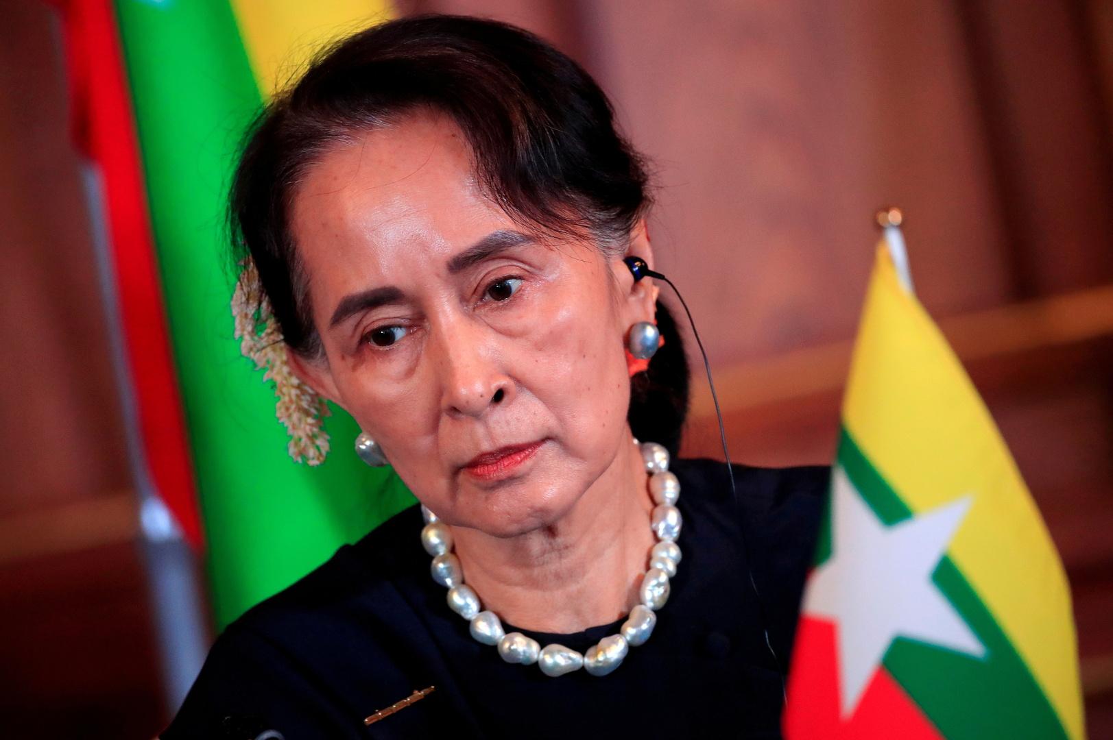 المجلس العسكري في ميانمار يحاكم زعيمة البلاد المخلوعة سو تشي