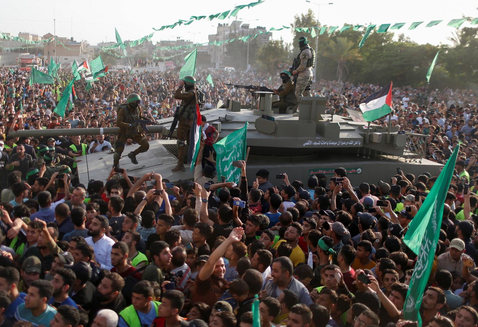 """مناصرو وعناصر حركة """"حماس"""""""