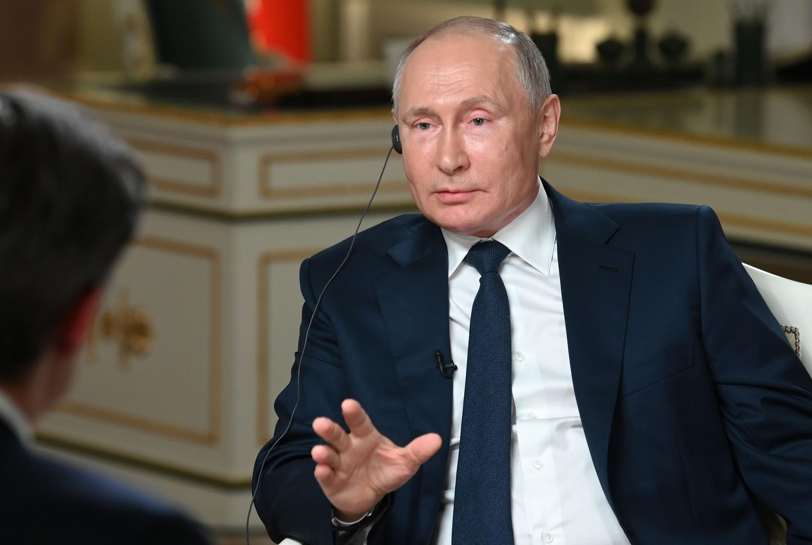 بوتين: روسيا لا تعتبر الصين تهديدا لها