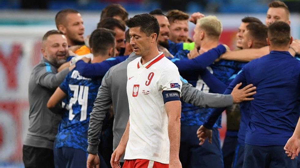 أمم أوروبا.. بولندا تبدأ مشوارها بالسقوط أمام سلوفاكيا (فيديو)