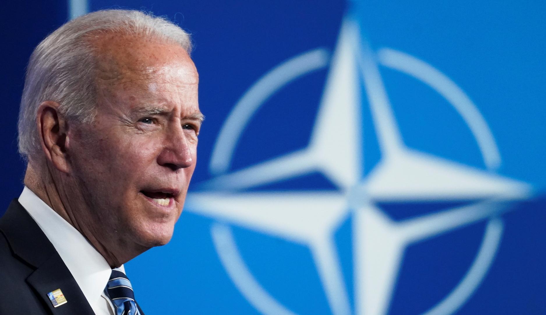 بايدن يتحدث عن شروط انضمام أوكرانيا للناتو ويعد برفع قدرتها على
