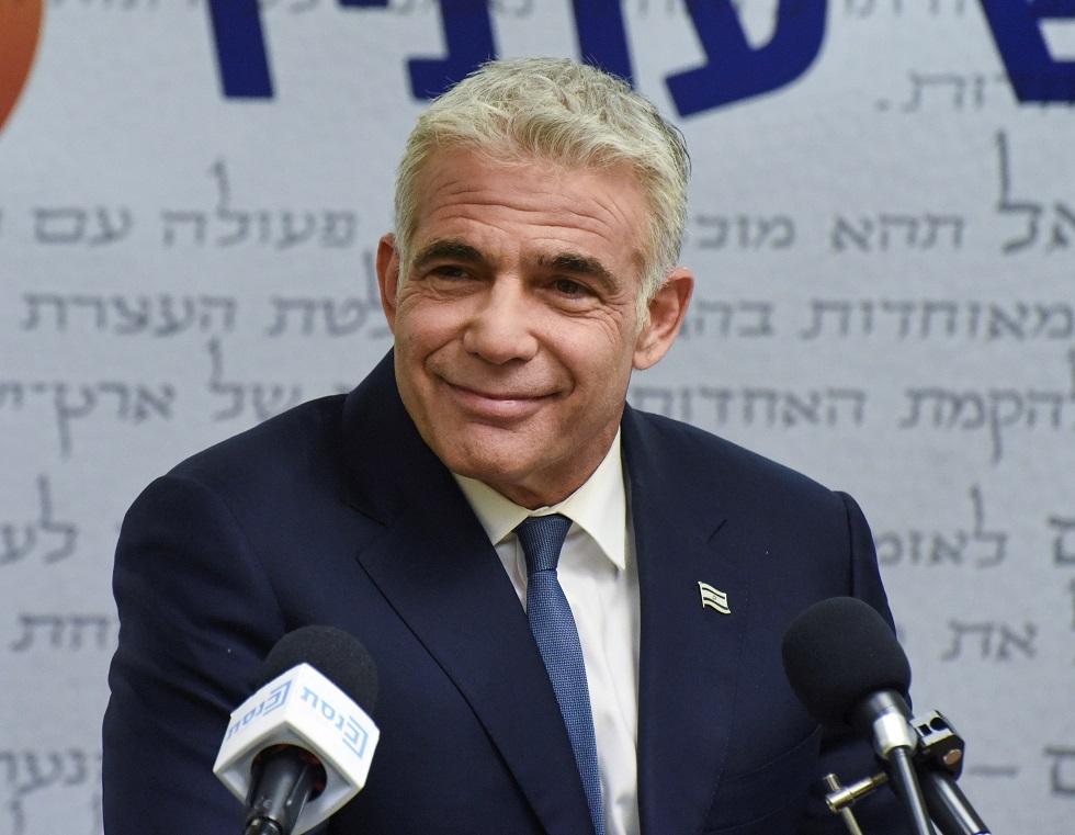 وزير الخارجية الإسرائيلي الجديد يائير لابيد