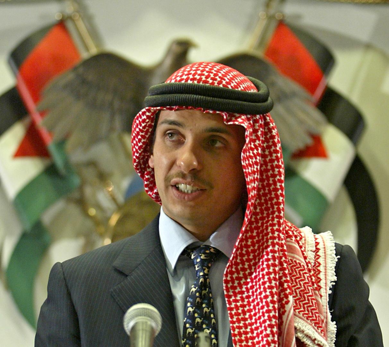 الأمير الأردني حمزة ابن الحسين