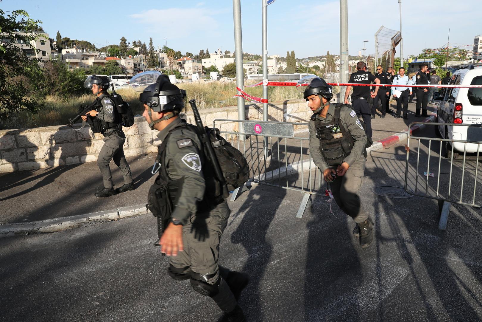 عناصر من الأمن الإسرائيلي