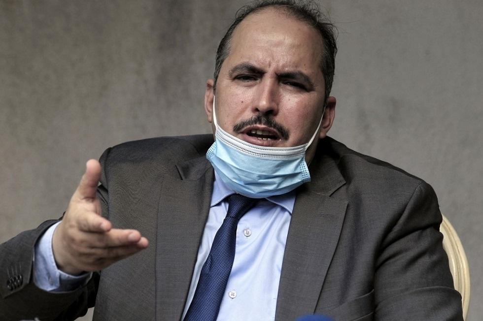 الأمين العام لحزب جبهة التحرير الوطني الجزائرية أبو الفضل بعجي