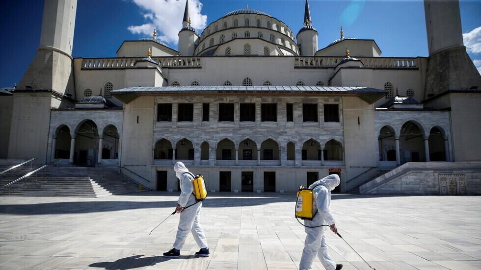 تركيا تسجل 84 وفاة جديدة بكورونا مقابل 74 الاثنين