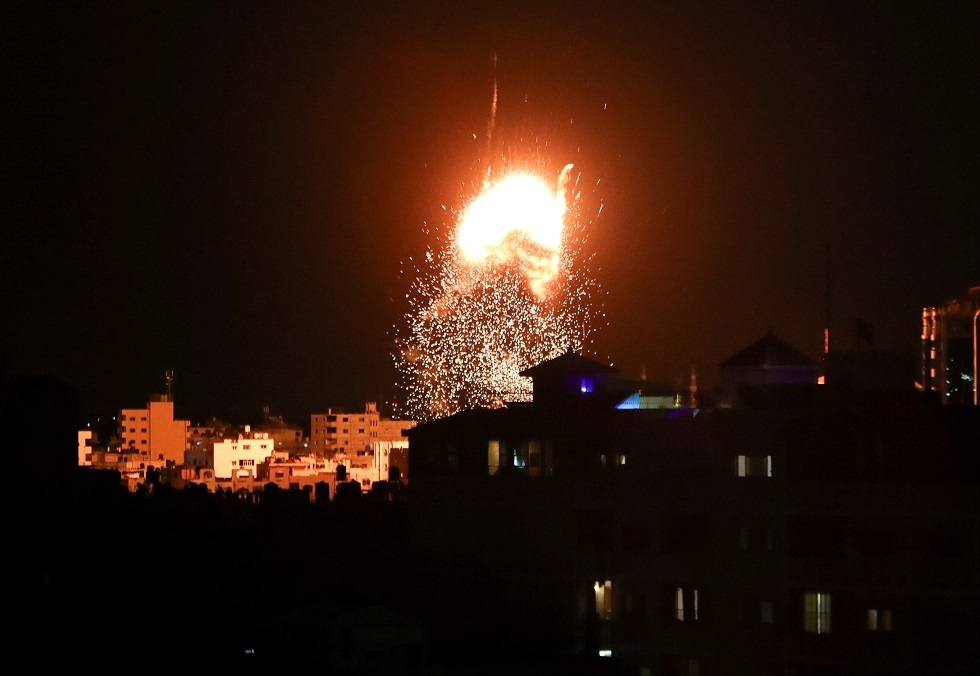 غارات إسرائيلية على قطاع غزة -أرشيف-