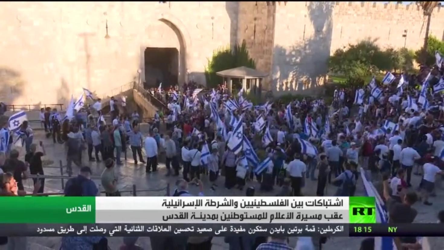 القدس.. اعتقالات وإصابات بين الفلسطينيين