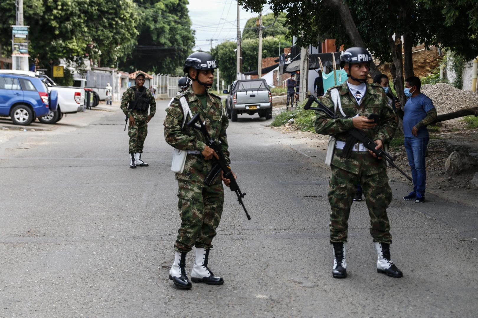 كولومبيا.. إصابة 36 شخصا في تفجير استهدف قاعدة عسكرية