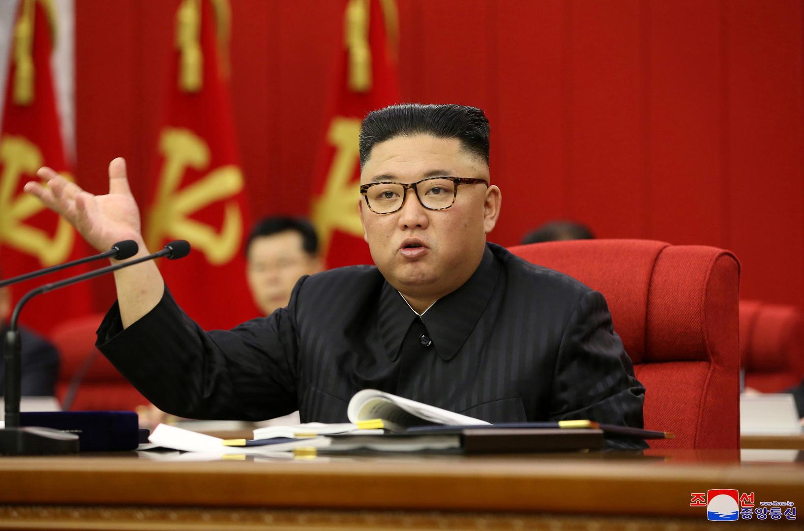 زعيم كوريا الشمالية يؤكد تأزم الوضع الغذائي في بلاده بسبب كورونا والأعاصير