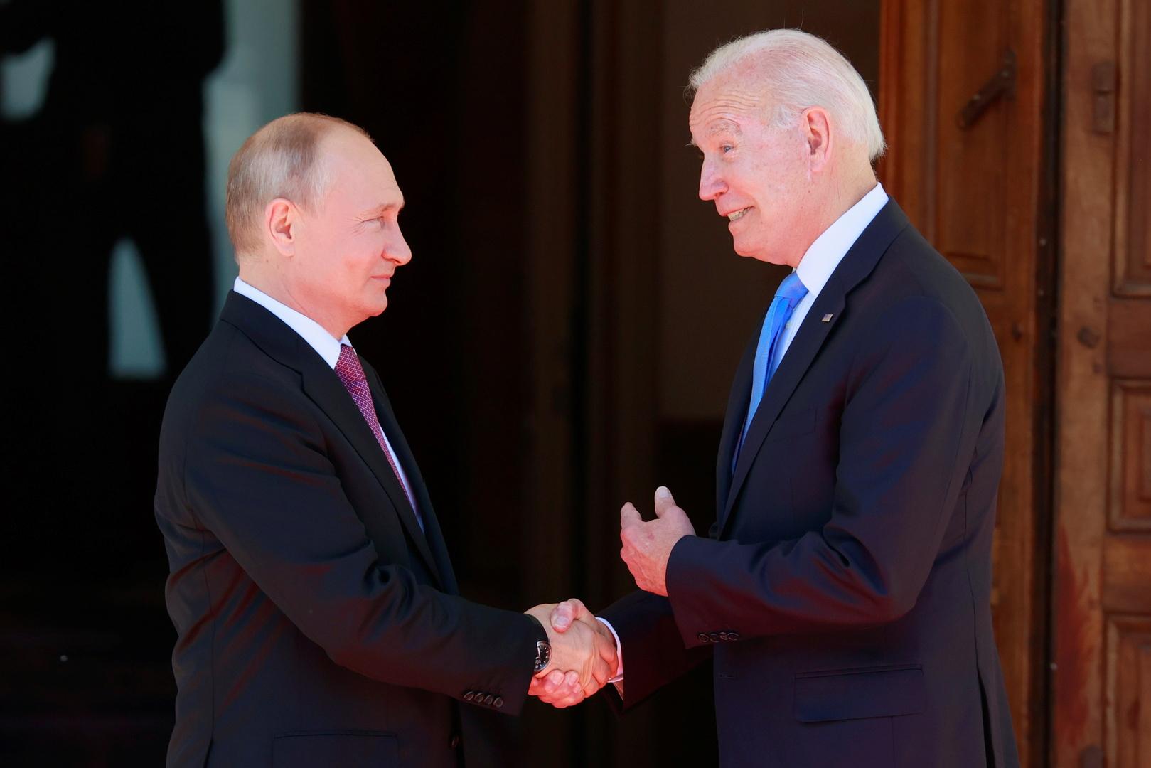 انطلاق قمة بوتين-بايدن في جنيف