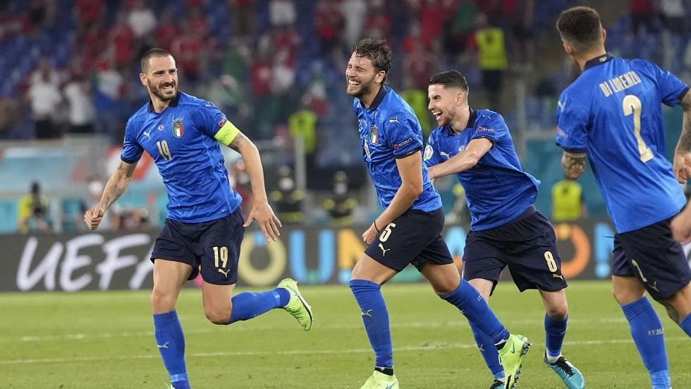إيطاليا أول المتأهلين لدور الـ16 لكأس أمم أوروبا (فيديو)