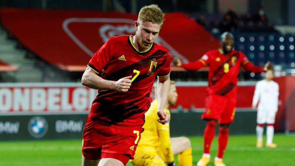 دي بروين نجم المنتخب البلجيكي جاهز لمواجهة الدنمارك بعد شفائه من إصابة نهائي الأبطال