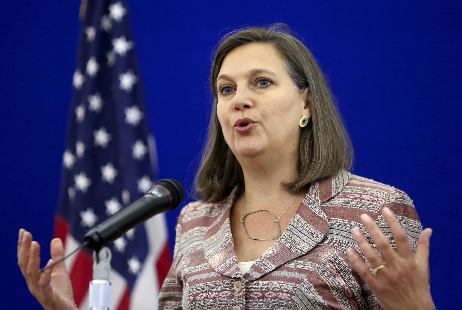 نائبة وزير الخارجية الأمريكي للشؤون السياسية فيكتوريا نولاند