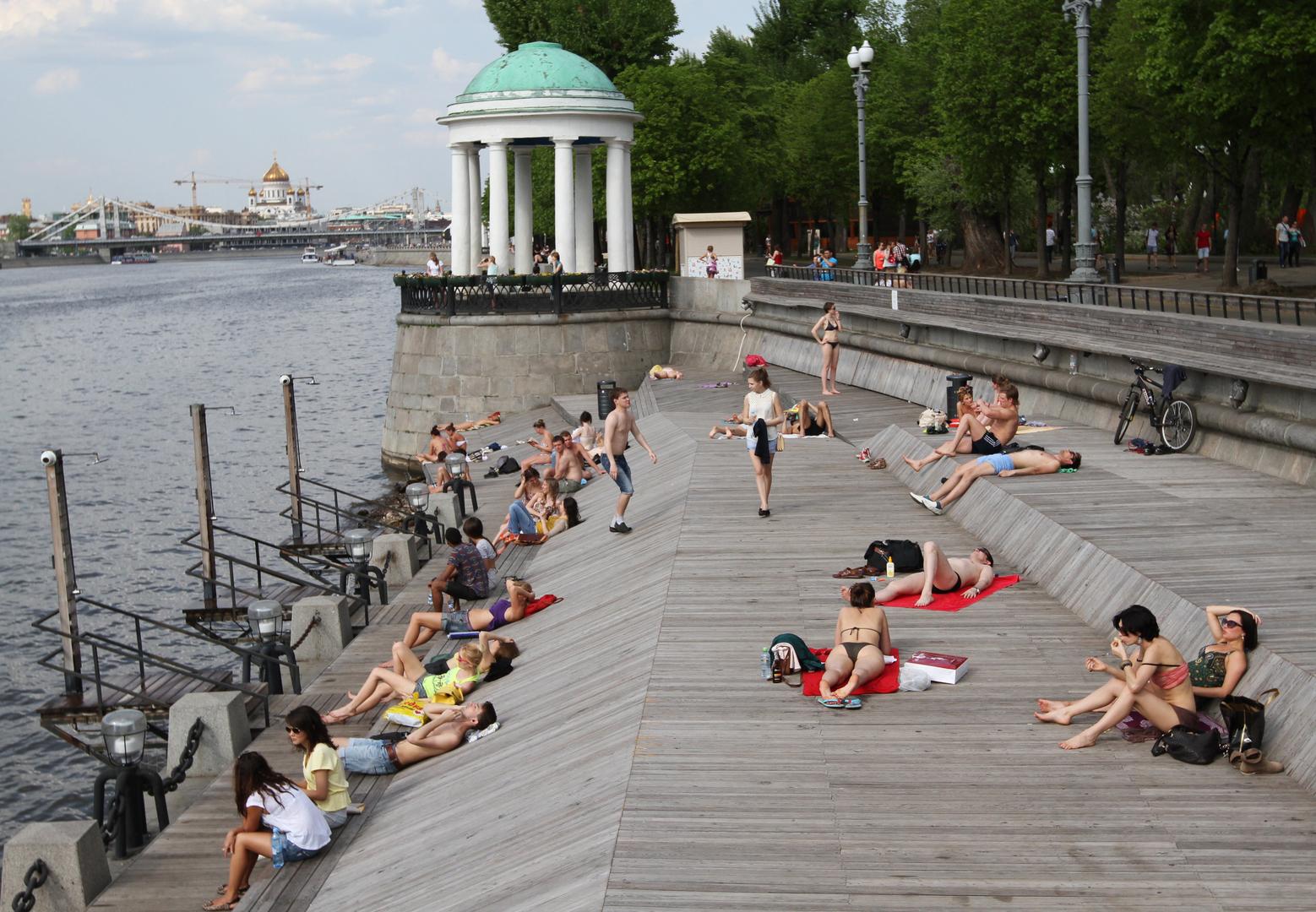 درجات الحرارة تسجل رقما قياسيا في موسكو
