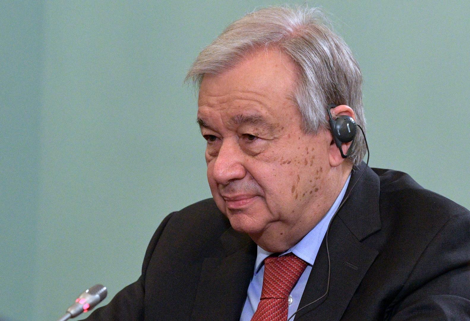 الأمين العام للأمم المتحدة ينتقد تصرفات قوات إفريقيا الوسطى