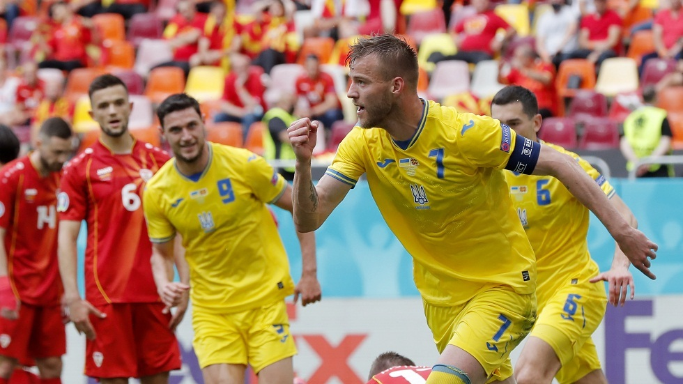 أوكرانيا تحقق انتصارها الأول في أمم أوروبا