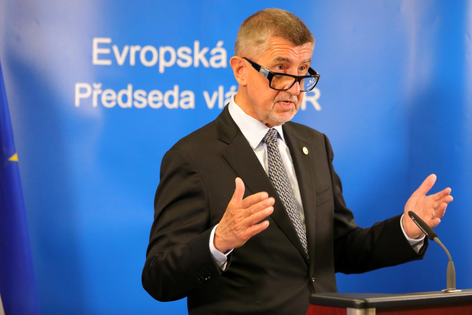 رئيس الوزراء التشيكي: علينا بناء علاقات جديدة مع روسيا