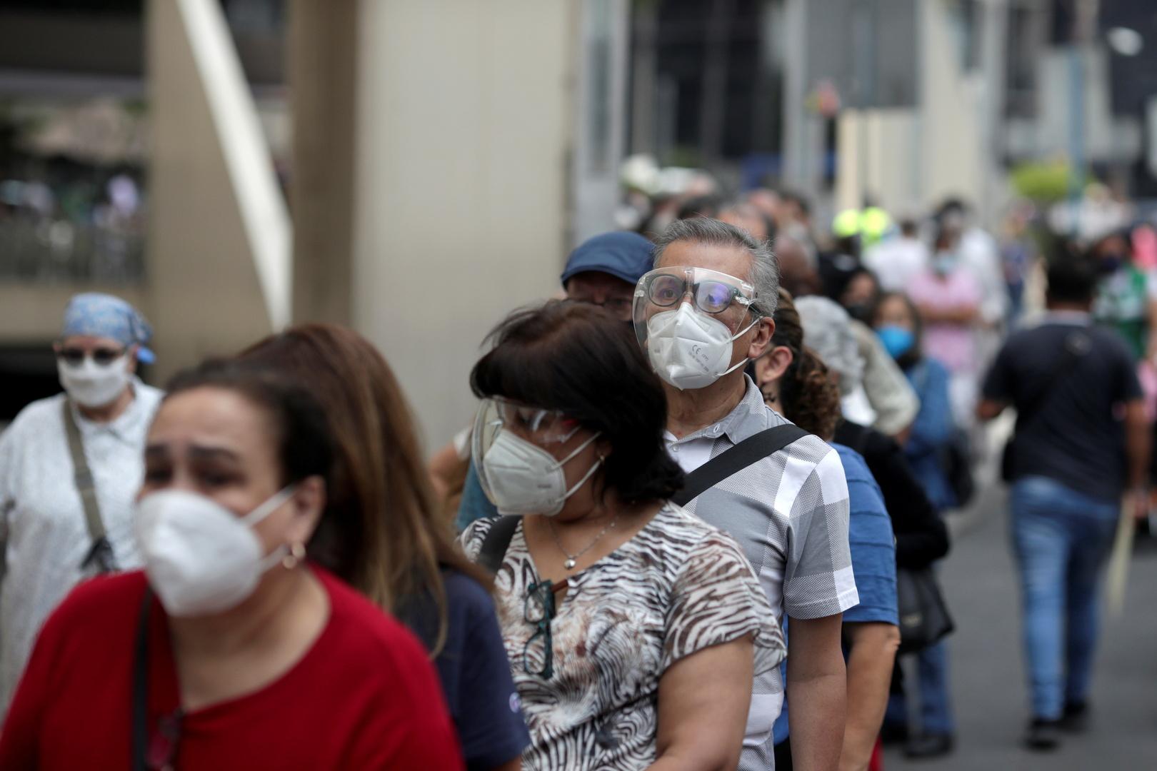 المكسيك تسجل 168 وفاة جديدة بفيروس كورونا