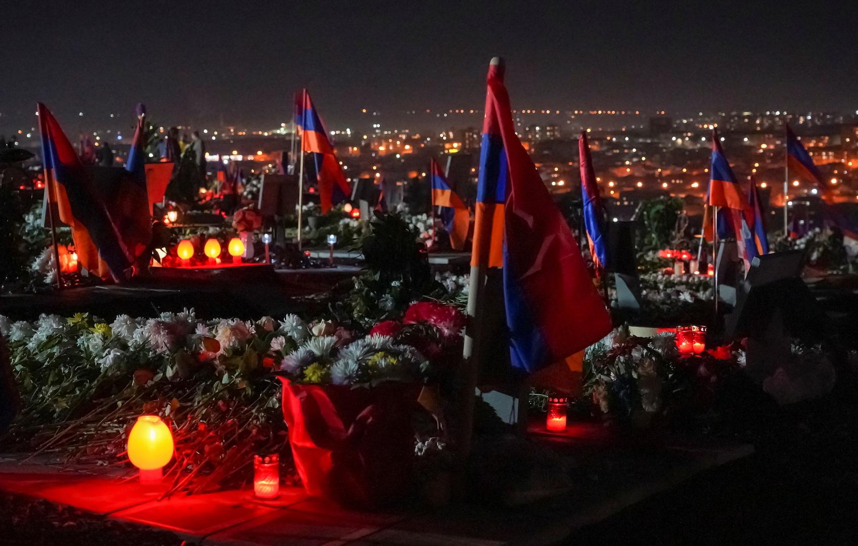 أرمينيا تعلن مقتل أكثر من 3700 من عسكرييها في قره باغ العام الماضي