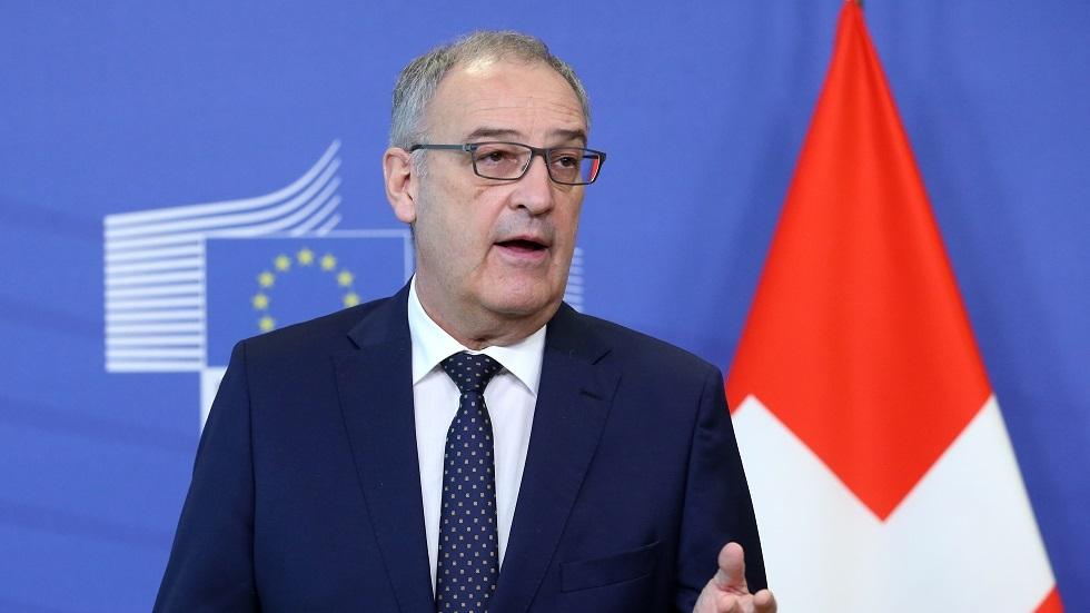 الرئيس السويسري يكشف عن لحظة بارزة في قمة بوتين وبايدن