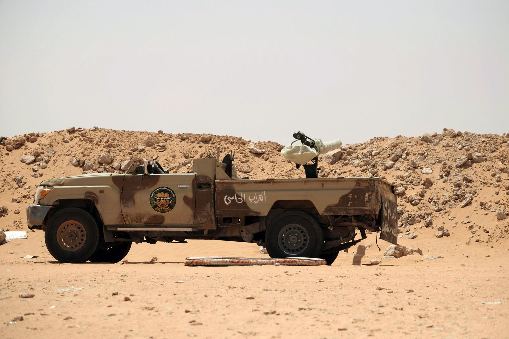 آلية تابعة للجيش الوطني الليبي، أرشيف
