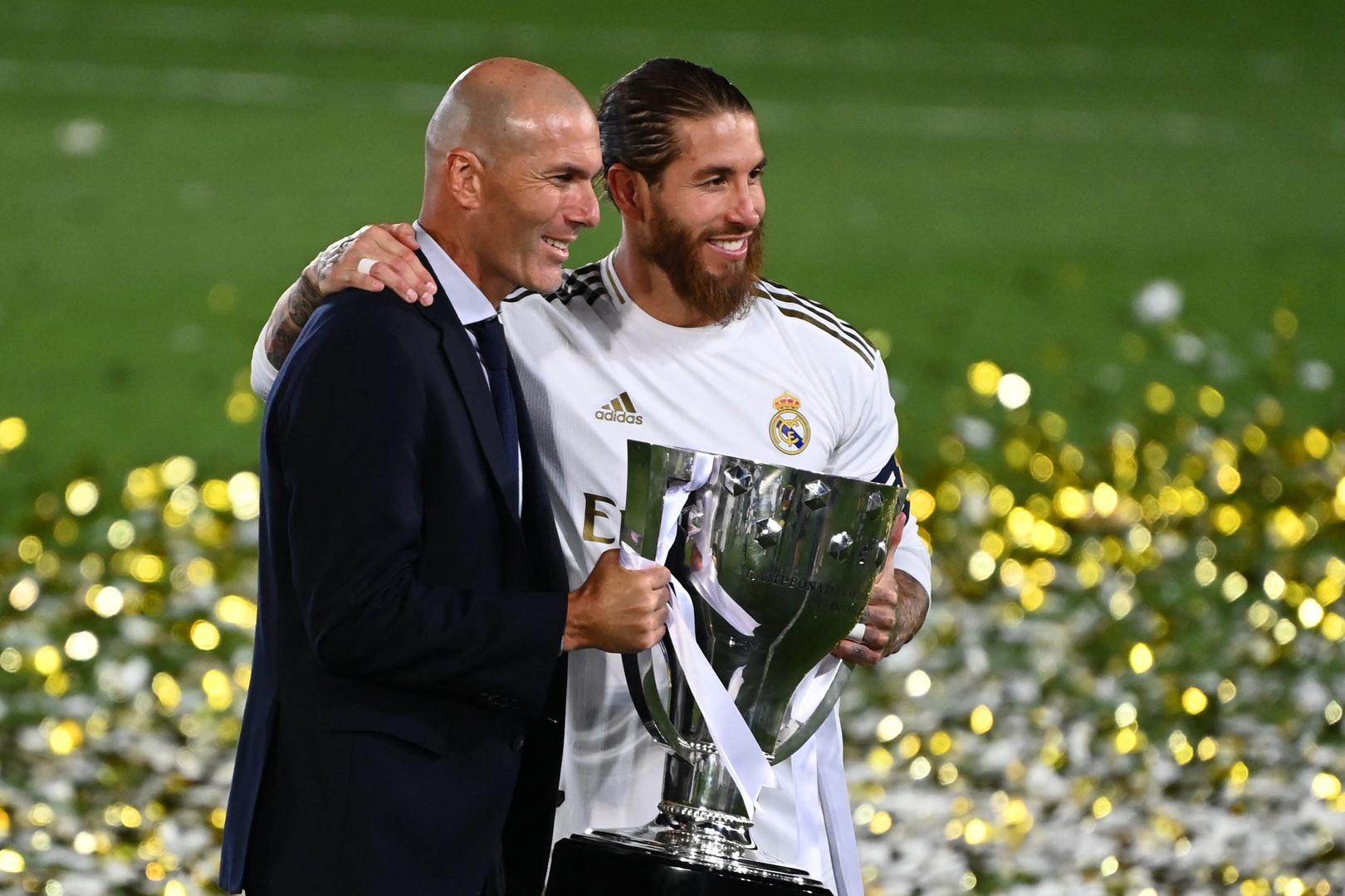 زيدان يوجه رسالة مؤثرة لراموس بعد رحيله عن ريال مدريد