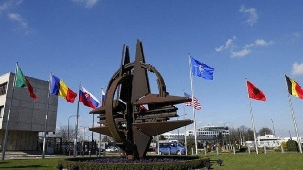 مقر حلف الناتو في بروكسل ببلجيكا - أرشيف