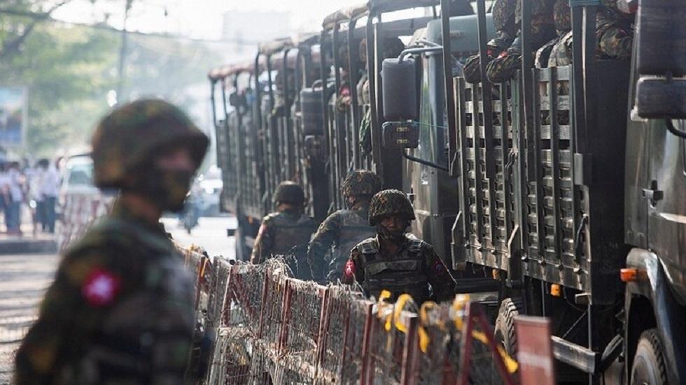 القوات المسلحة في ميانمار - أرشيف