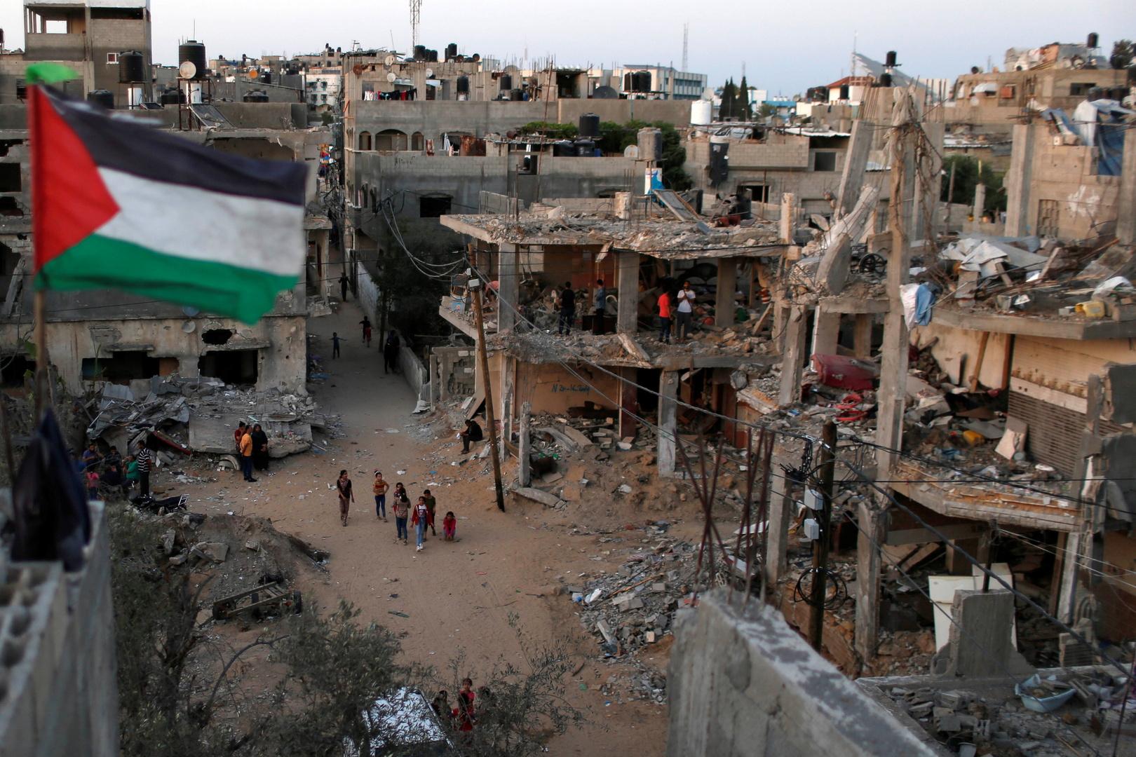 الدمار في غزة جراء العدوان الإسرائيلي الأخير