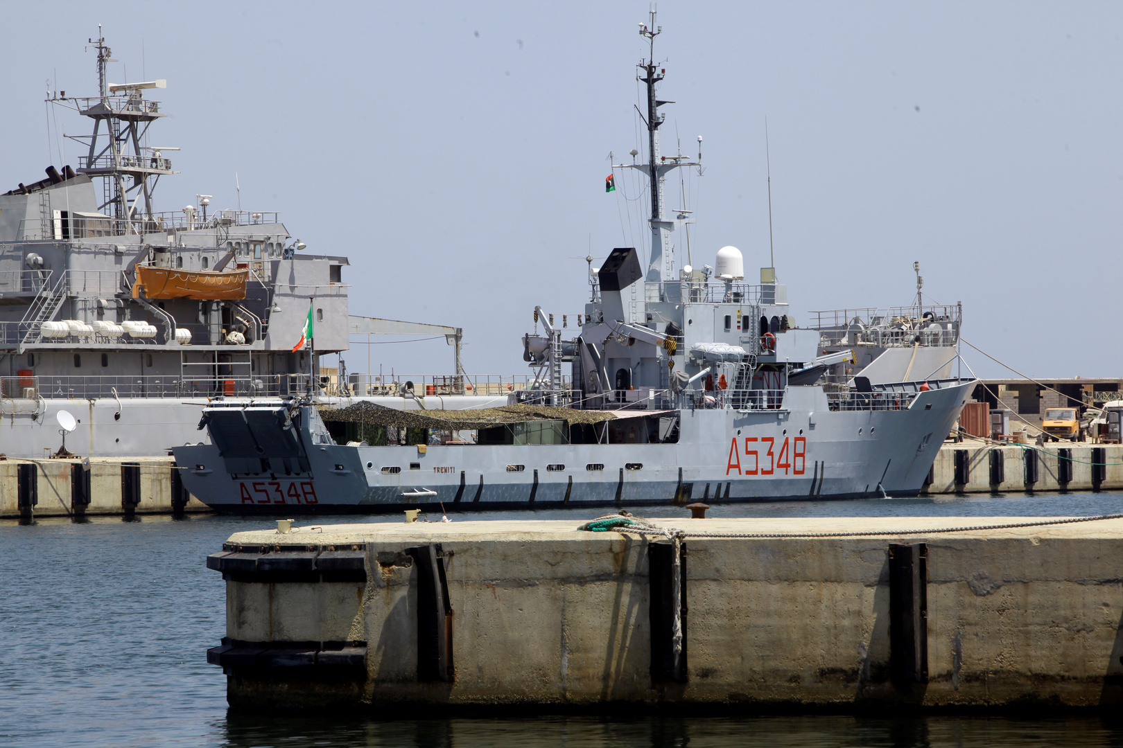 البحرية الإيطالية، أرشيف