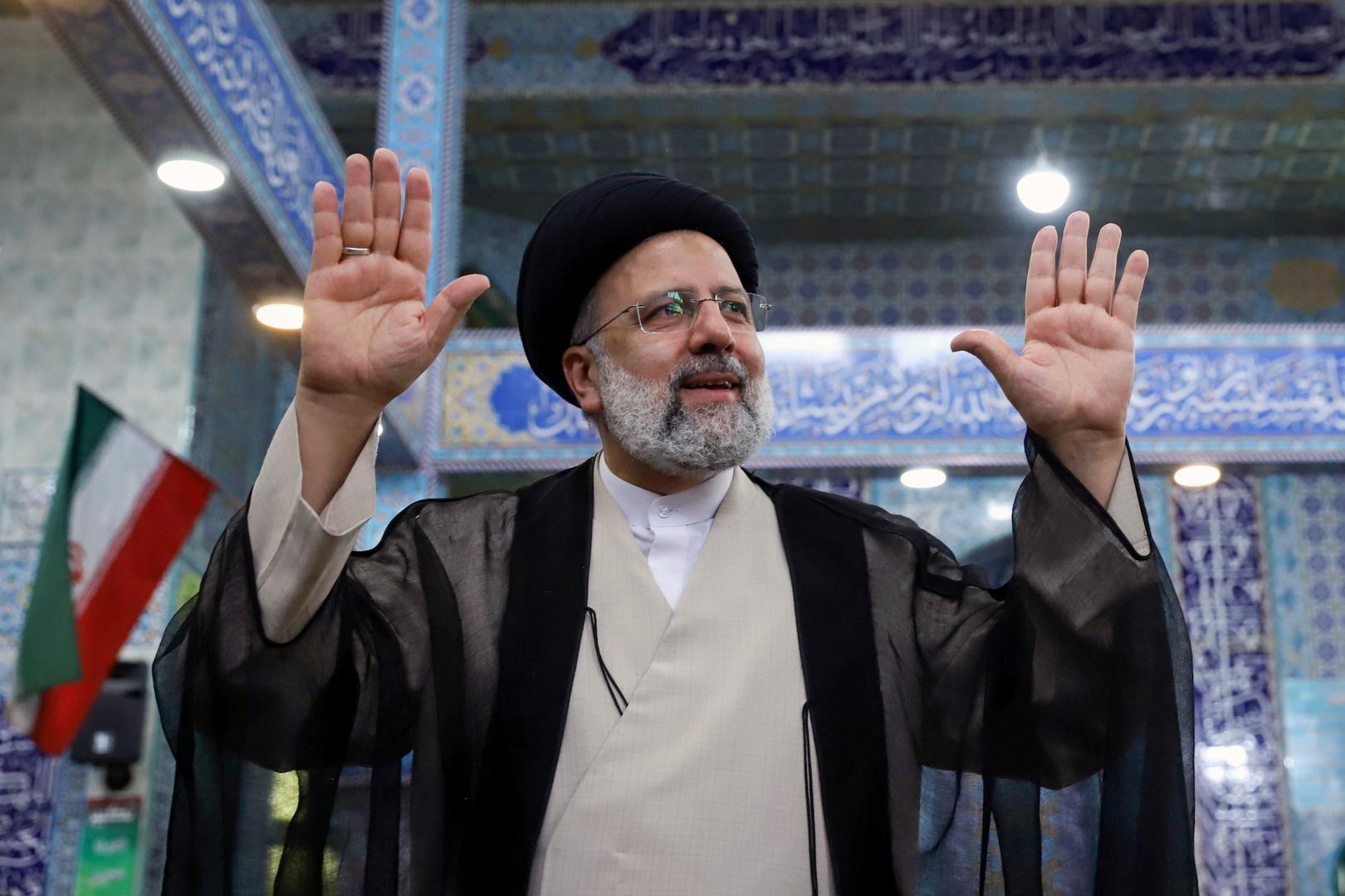 إبراهيم رئيسي يفوز بانتخابات الرئاسة الإيرانية