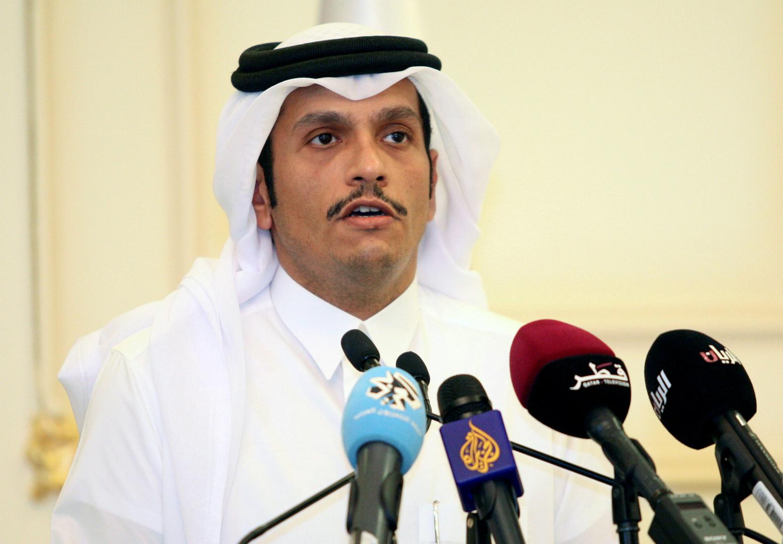 وزير خارجية قطر محمد بن عبدالرحمن آل ثاني