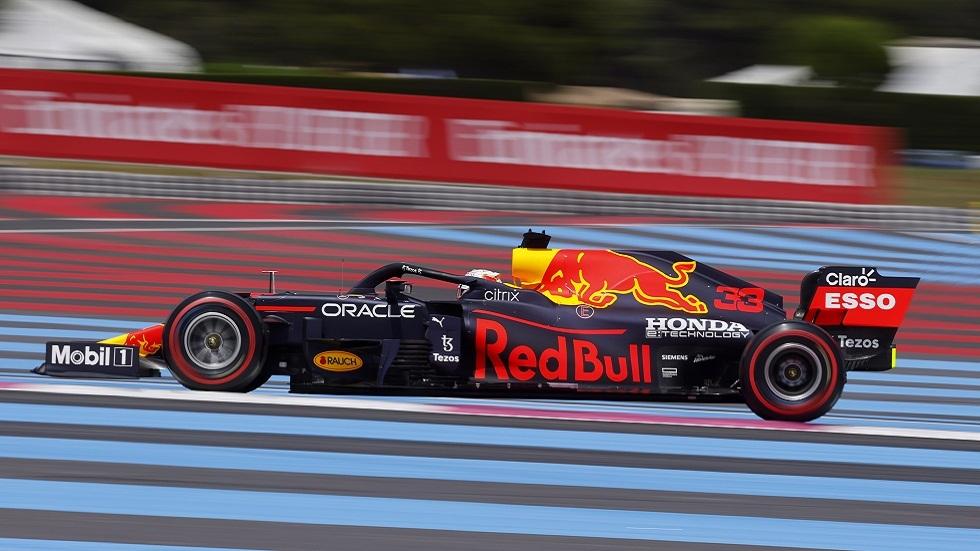 الهولندي فرستابن الأسرع في جولة التجارب الأخيرة بجائزة فرنسا للفورمولا 1
