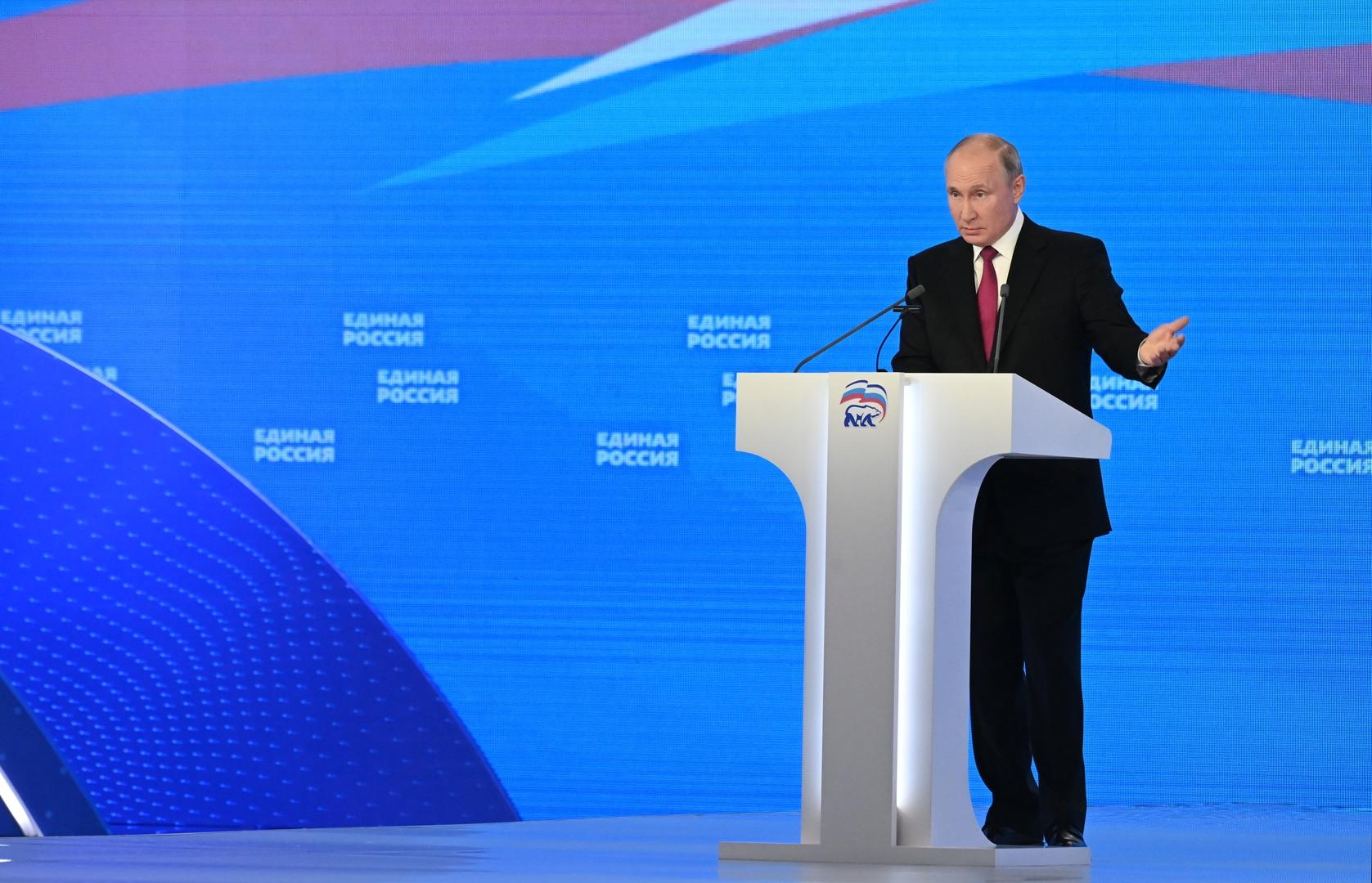 بينهم شويغو ولافروف.. بوتين يرشح 5 شخصيات لصدارة قوائم حزب