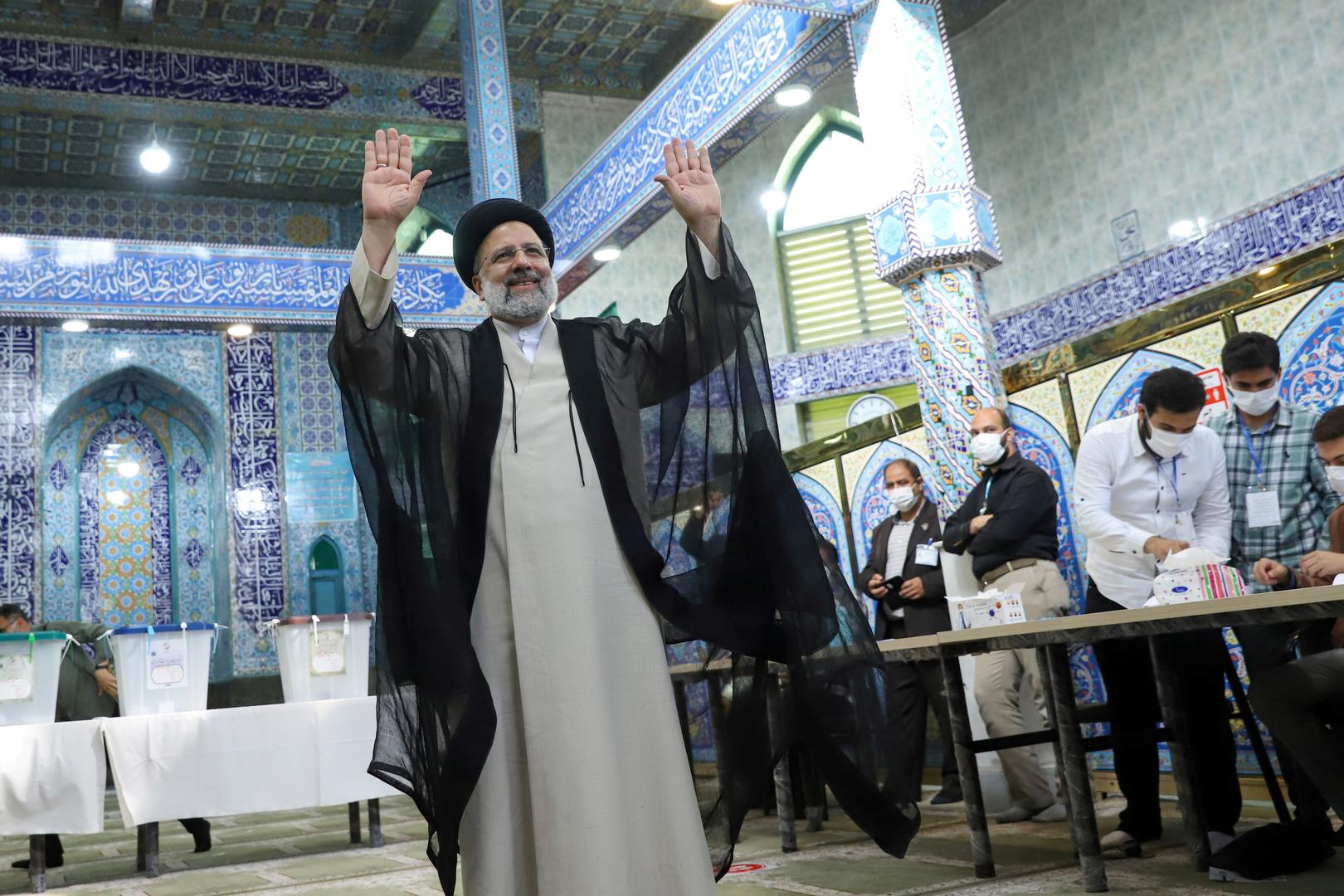 الداخلية الإيرانية تعلن رسميا فوز رئيسي: نسبة التصويت هي الأقل منذ انتصار الثورة