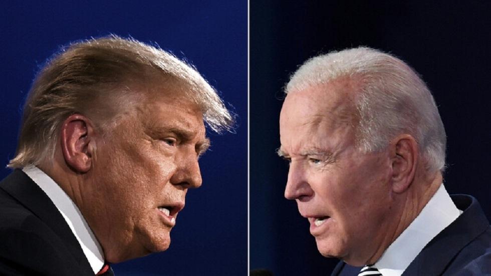 رئيسا الولايات المتحدة الحالي جو بايدن والسابق دونالد ترامب
