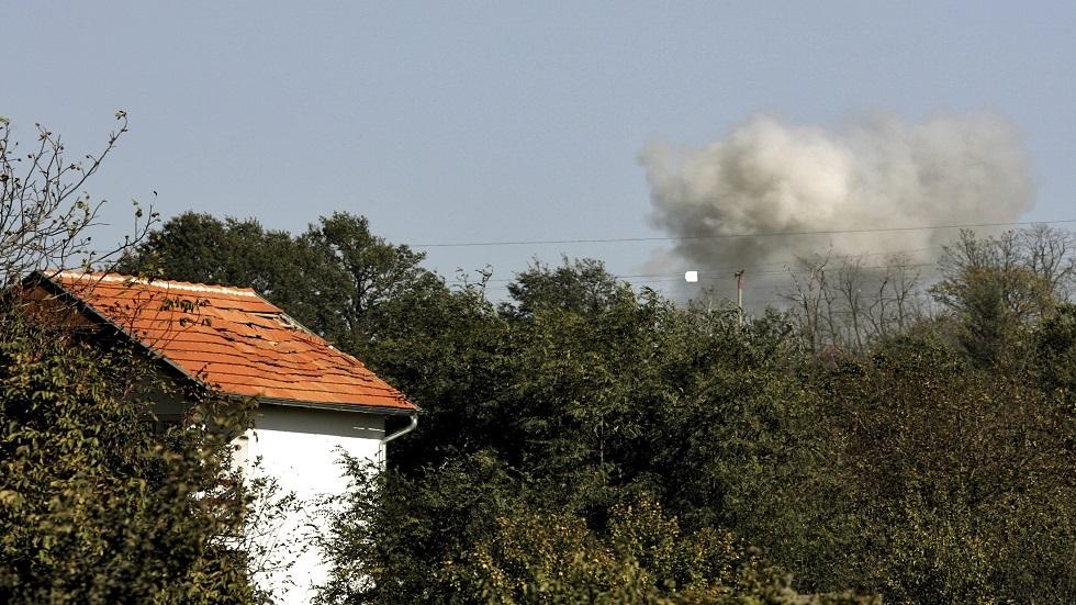 انفجار في مستودع للأسلحة في صربيا - أرشيف
