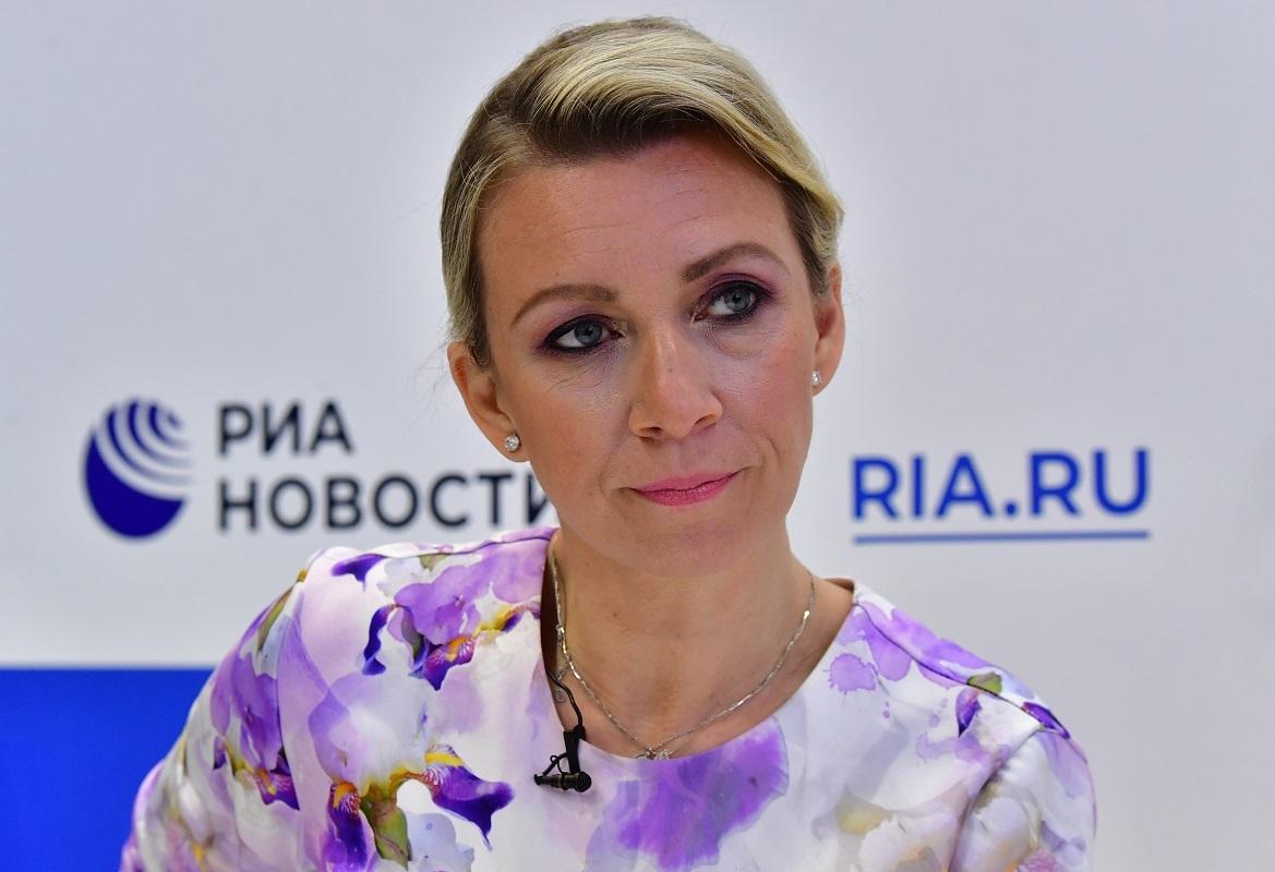 المتحدثة باسم الخارجية الأمريكية ماريا زاخاروفا