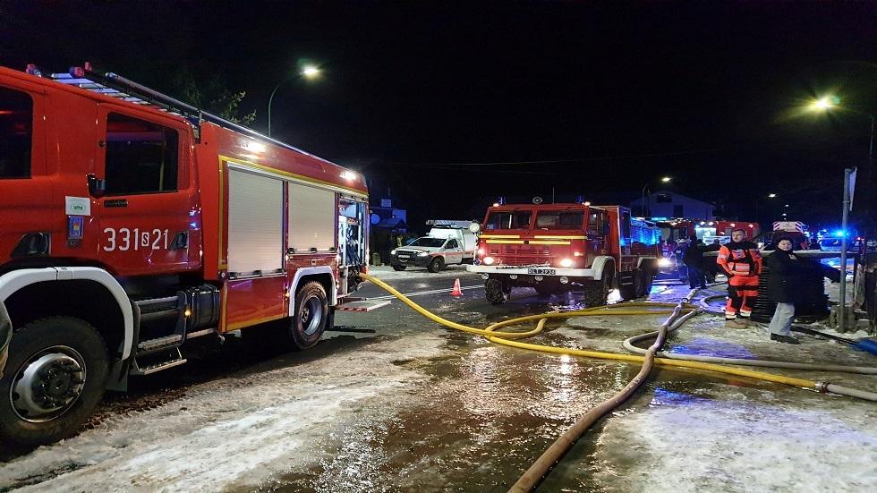 سيارات الإطفاء في بولندا - أرشيف