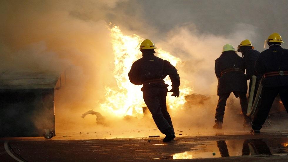 فرق الأطفاء في صربيا - أرشيف