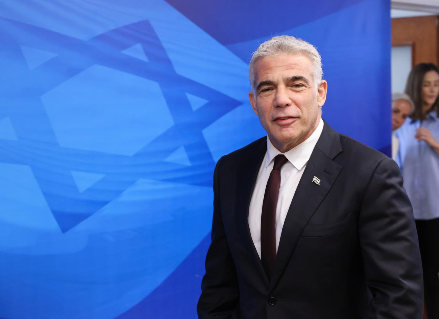 موقع إسرائيلي: لابيد سيزور الإمارات قريبا في أول زيارة خارجية له