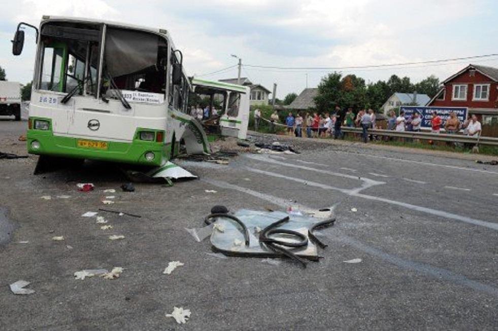 جرحى بتصادم حافلتين جنوب روسيا