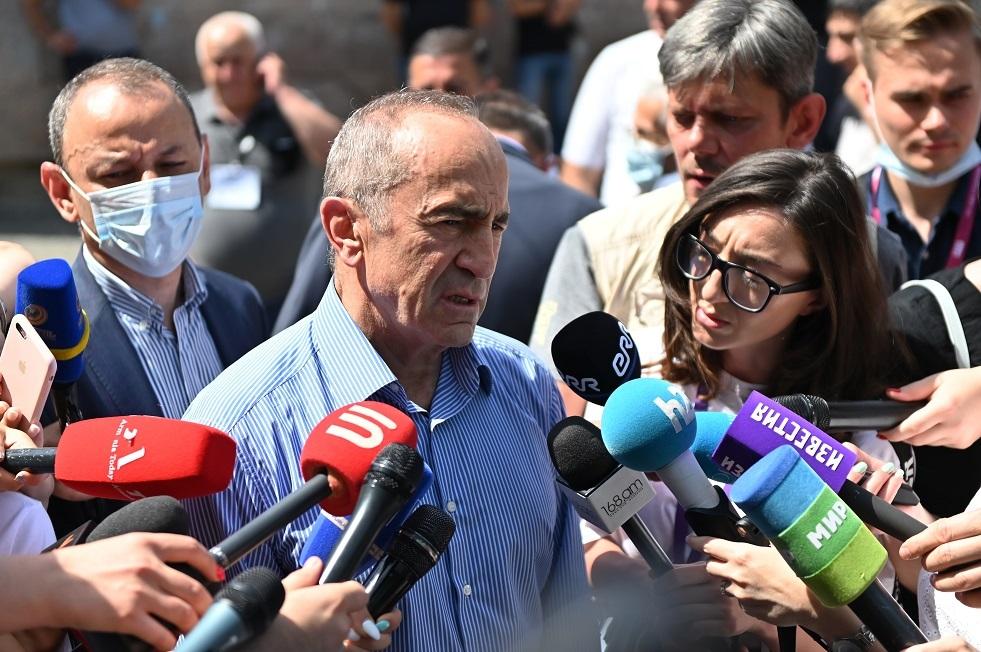 كتلة كوتشاريان لم تعترف بنتائج الانتخابات في أرمينيا