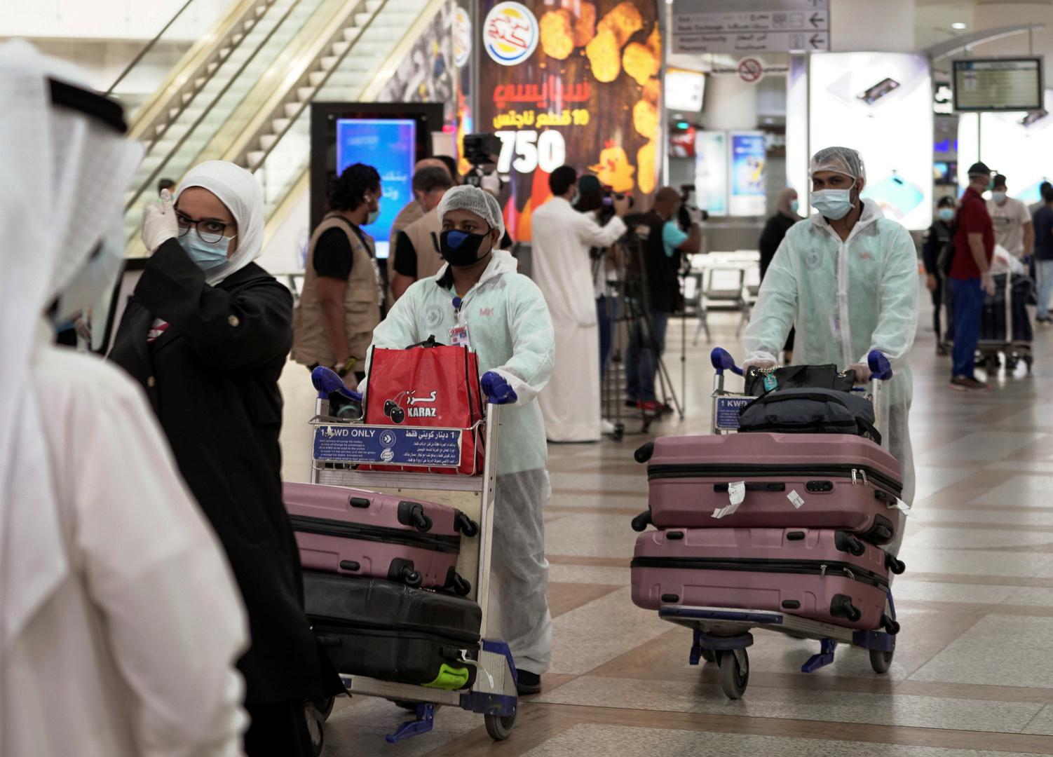 الكويت تسجل أعلى حصيلة إصابات يومية بكورونا منذ بداية الجائحة