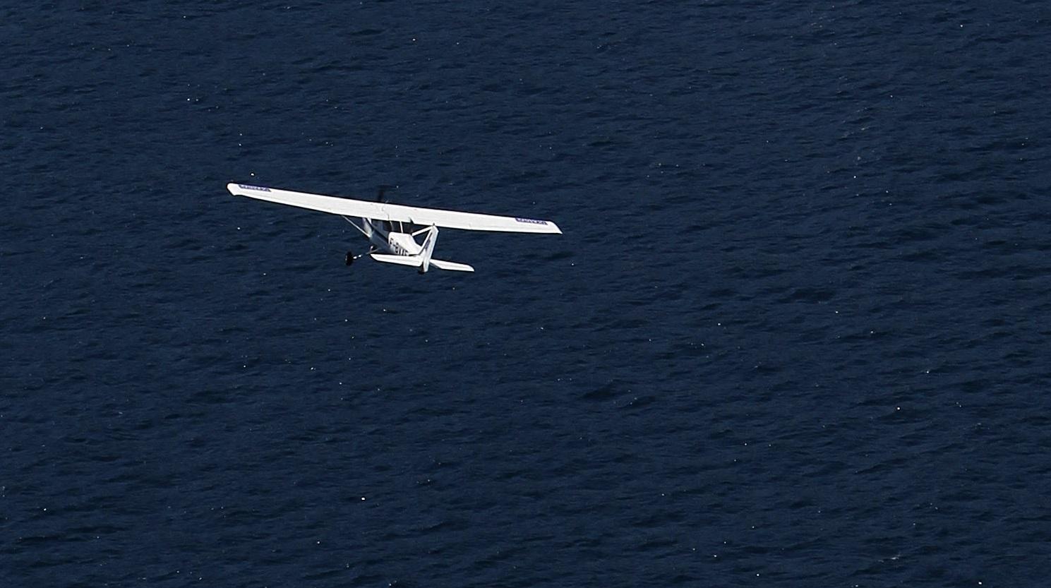 مصرع شخصين جراء تحطم طائرة خفيفة في اليونان