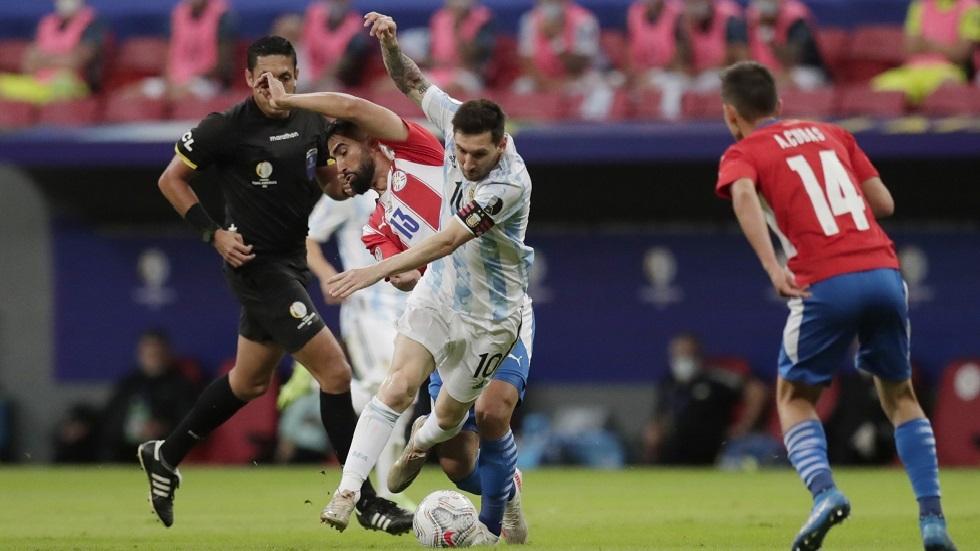 الأرجنتين تهزم باراغواي وتحجز مقعدها في ربع نهائي كوبا أمريكا (فيديو)