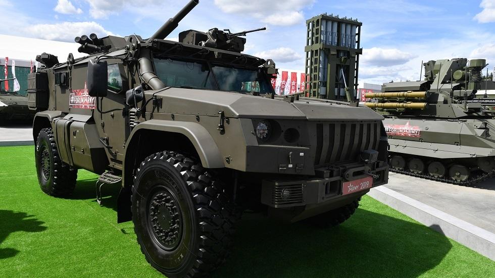 روسيا تدعم قوات الدفاع الجوي بعربات مدرعة جديدة