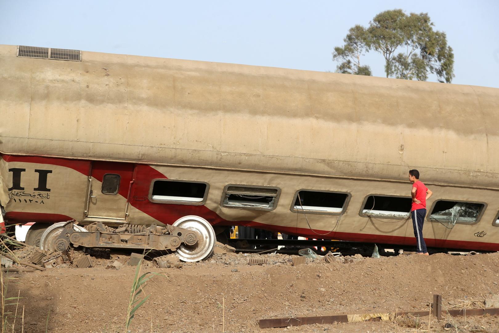حوادث القطارات في مصر - أرشيف